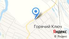 Благомяс на карте