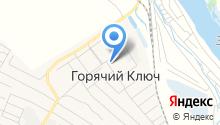 Горячеключевская средняя общеобразовательная школа на карте