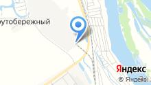 Русская Береза на карте