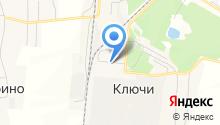 Сеть пекарен на карте