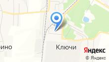 Ключевская средняя общеобразовательная школа на карте