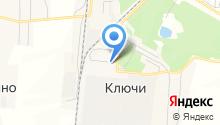 Сибирская корона на карте