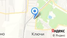 Ключевской на карте