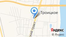 Троицкий строительный рынок на карте