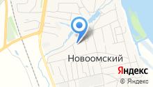 Новоомская участковая больница на карте