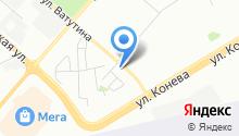 Атмосфера - Кондиционеры с установкой в Омске на карте