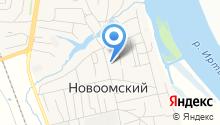 Новоомская средняя общеобразовательная школа на карте
