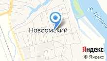 Администрация Новоомского сельского поселения на карте