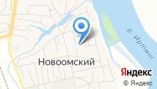 Новоомский детский сад на карте