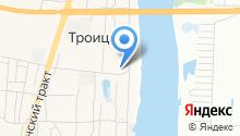 Троицкая средняя общеобразовательная школа на карте