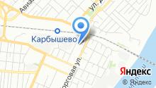 7 отряд ФПС по Омской области на карте