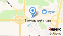 Surgut Centre Apartments на карте