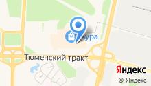 Orby на карте