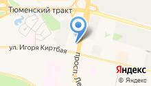 Автовокзал г. Сургута на карте