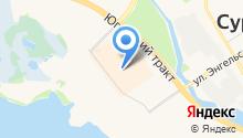 Ковры Сити на карте