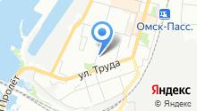3 отряд ФПС по Омской области на карте