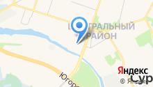 11 отряд ФПС по Ханты-Мансийскому автономному округу-Югре на карте