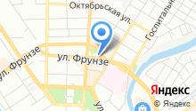 Общественная приемная депутата Ефимова А.В. на карте