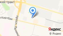 Экспресс-шина на карте