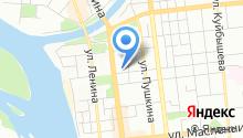 Государственная инспекция труда в Омской области на карте