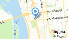 Ara на карте