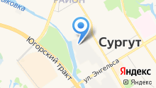 AGS на карте