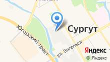 Дизель-Сургут на карте