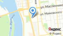 Омский государственный университет путей сообщения на карте
