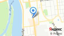 ТРАНСПОРТНЫЙ ПОРТАЛ ОМСКА на карте