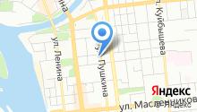 5 отряд ФПС по Омской области на карте