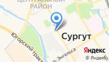 CAS Центр Сургут на карте