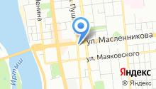 Барналей на карте