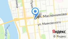 Логос на карте