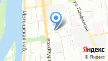 Окремонт Омск - Первый федеральный оператор на рынке внутренней отделки на карте