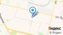 Служба эвакуационной помощи на дороге на карте