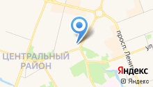 ЮТэйр на карте