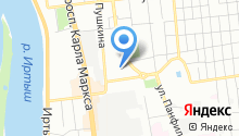 Christina на карте