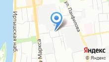 EMS на карте