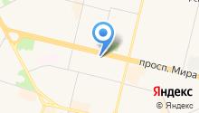 GORILLA на карте