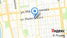 Faberliс на карте