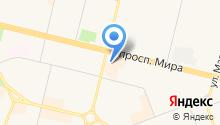 Югра & Краснодар на карте