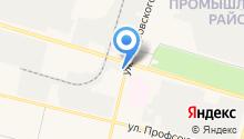 Автозапчасти на Островского на карте