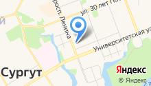 Банкомат, Сургутнефтегазбанк на карте