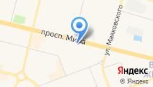 Afina на карте
