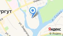 Сургутский государственный университет на карте