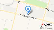 КлондайкАвто на карте