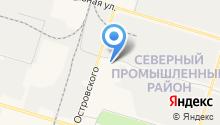 Elfa в Западной Сибири на карте