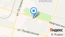 Порше Сервис Сургут на карте