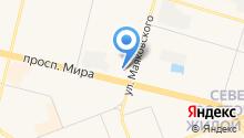 GSM Сургут на карте