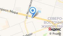 LSR на карте